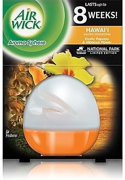 Air Wick® Aroma Sphere Air Freshener, Hawaii, 2.5 oz.