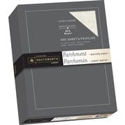 """Southworth Parchment Paper, 24 lb, 8 1/2"""" x 11"""", Ivory, 400/Pack"""