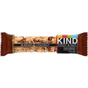 KIND® – Barres de collation Fruit & Nut, amandes et noix de coco, 40 g, bte/12 barres