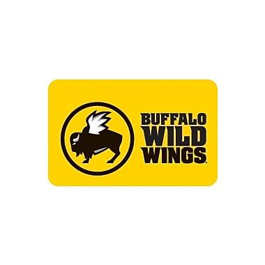 Buffalo Wild Wings Gift Card $50