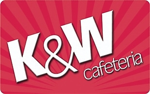K&W Gift Card $100 (Email Delivery)