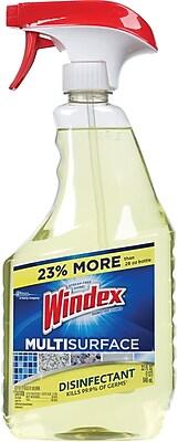 Windex® Antibacterial Multi-Surface Cleaner Spray, 32 oz.