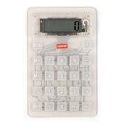Staples Flexible Calculator, Clear
