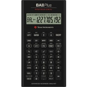Texas Instruments - Calculatrice BA II Plus Pro Business (commerciale)