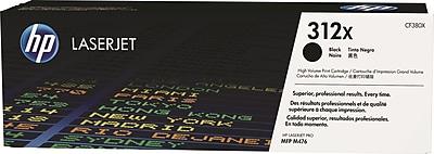 HP 312X Black Toner Cartridge (CF380X), High Yield