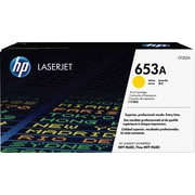HP 653A ColorSphere Yellow Toner Cartridge (CF322A)