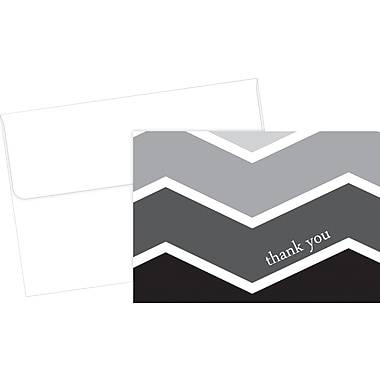 Great Papers® Ombre Chevron Thank You Cards, 50/Pack