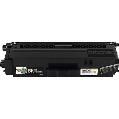 Brother TN-336BK Black Toner Cartridge, High Yield (TN336BK)