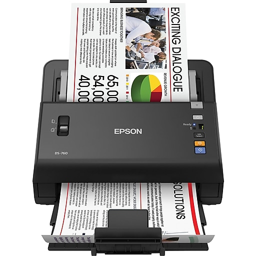 Epson workforce ds 760 color document scanner staples httpsstaples 3ps7is reheart Choice Image