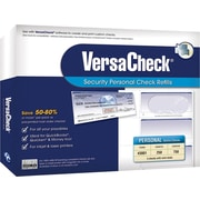 VersaCheck® Form #3001 Personal Wallet Security Check Refills (Blue -250 Sheets)[Boxed]