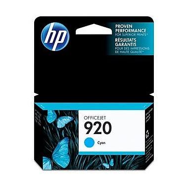 HP 920 Cartouche d'encre cyan d'origine (CH634AN)
