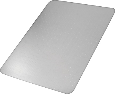 Advantus Recycled 60''x46'' Polycarbonate Chair Mat for Carpet, Rectangular (50141)