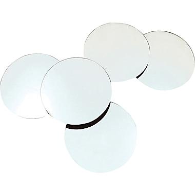 Nexxt™ - Miroirs circulaires à suspendre Design Solei, 10 po, incolore