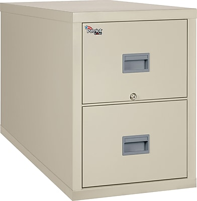 FireKing 2 Drawer Vertical File Cabinet, Legal (2P2131CPAI) 356358
