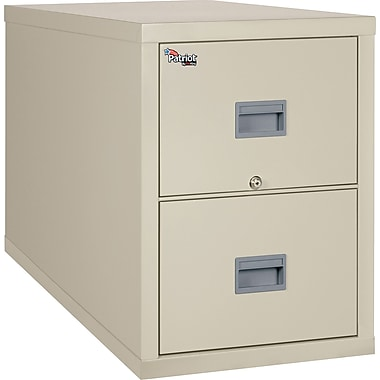 FireKing 2 Drawer Vertical File Cabinet, Legal, Includes White Glove Delivery (2P2131CPAI)