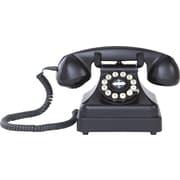 Crosley Kettle CR62 Classic Desk Phone, Black