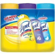 Lysol® Disinfecting Wipes, Variety Pack, 35/PK, 3/Pack