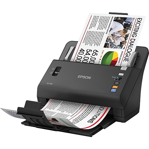 Epson workforce ds 860 color document scanner staples httpsstaples 3ps7is reheart Choice Image