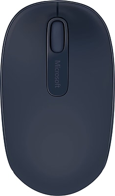 Microsoft® Wireless Mobile Mouse 1850, USB Wireless Mouse, Wool Blue (U7Z-00011)