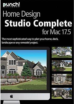 Encore Punch Home Design Studio Complete V17 5 For Mac 1 User