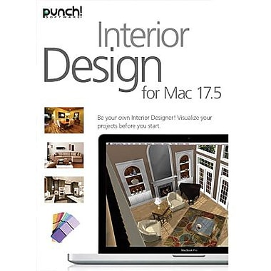 Encore Punch! Interior Design v17.5 for Mac (1 User) [Download]