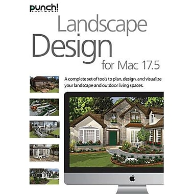 Encore Punch! Landscape Design v17.5 for Mac (1 User) [Download]