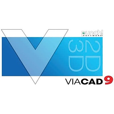 Encore Punch! ViaCAD 2D/3D v9 for Windows (1 User) [Download]