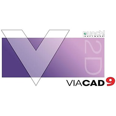 Encore Punch! ViaCAD 2D v9 for Windows (1 User) [Download]
