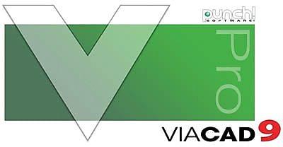Encore Punch! ViaCAD Pro v9 for Windows (1 User) [Download]