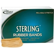 """Alliance Sterling Rubber Bands, #64 (3 1/2"""" x 1/4"""") Approximately 425/1 lb. box."""