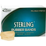 "Rubber Band, Sterling , Meets Fed Spec, Soft Stretch, Easy Apply, Excellent Count, USA MADE, #84 (3-1/2""x1/2""), 1 lb Box"