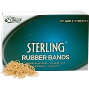 "Alliance Sterling™ Rubber Bands, #10, 1 1/4"" x 1/16"""