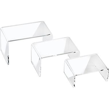 Acrylic Mini Risers, Sets of 3, 2-3/4