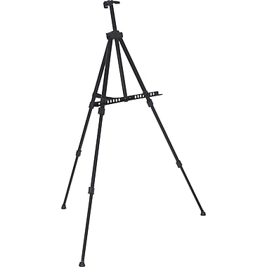 Staples® Tripod Display Stand, Adjustable Height