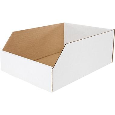 Boîte de rangement, 12 po x 8 po x 4,5 po, 50/lot