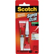 Scotch® Super Glue Gel, .07 oz, 2/Pack