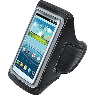 Aduro U-Band Sport Armband for Samsung Galaxy S3/S4, Black