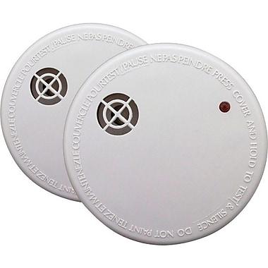 First Alert® - Détecteur de fumée avec bouton mode silencieux, paq./2