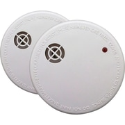 First Alert® Smoke Alarm with Easy Touch Alarm-Pause Silencer, 2/Pack