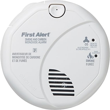 first alert battery operated combination smoke u0026 carbon monoxide detector - First Alert Smoke Alarm