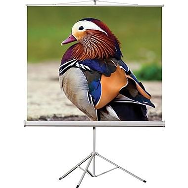 EluneVision - Écran de projecteur trépied portatif, 136 po, 1:1