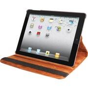 Natico 60-IM360-BR Faux Leather Folio Case for Apple iPad Mini, Brown