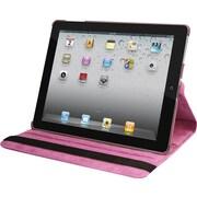 Natico 60-IM360-PR Faux Leather Folio Case for Apple iPad Mini, Purple