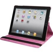 Natico 60-I360-PR Faux Leather Folio Case for Apple iPad, Purple