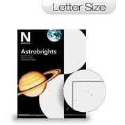 "Neenah Astrobrights® Colored Card Stock, 8 1/2"" x 11"", Stardust White, 250/Pack"