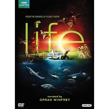 BBC Life 4-Disc DVD Set Narrated by Oprah Winfrey