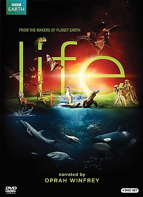 BBC Life 4-Disc DVD Set Narrated by Oprah Winfrey