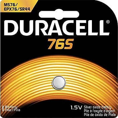 Duracell 1.5-Volt Silver Battery (MS76BPK)