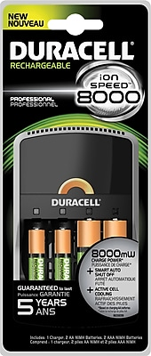 Duracell Charger Ion 8000 Professional