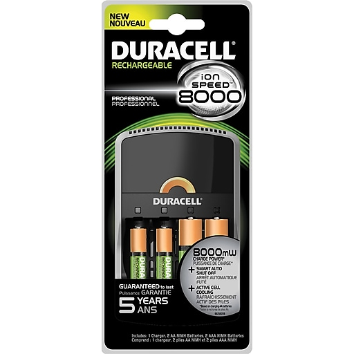 Duracell Charger Battery, AAA/AA, Each (CEF15)